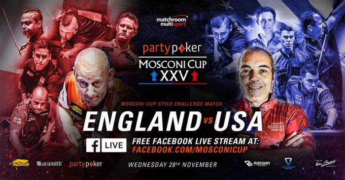 Mosconi Cup 2018