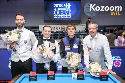 Giải World Cup Billiard tại Seoul 2018