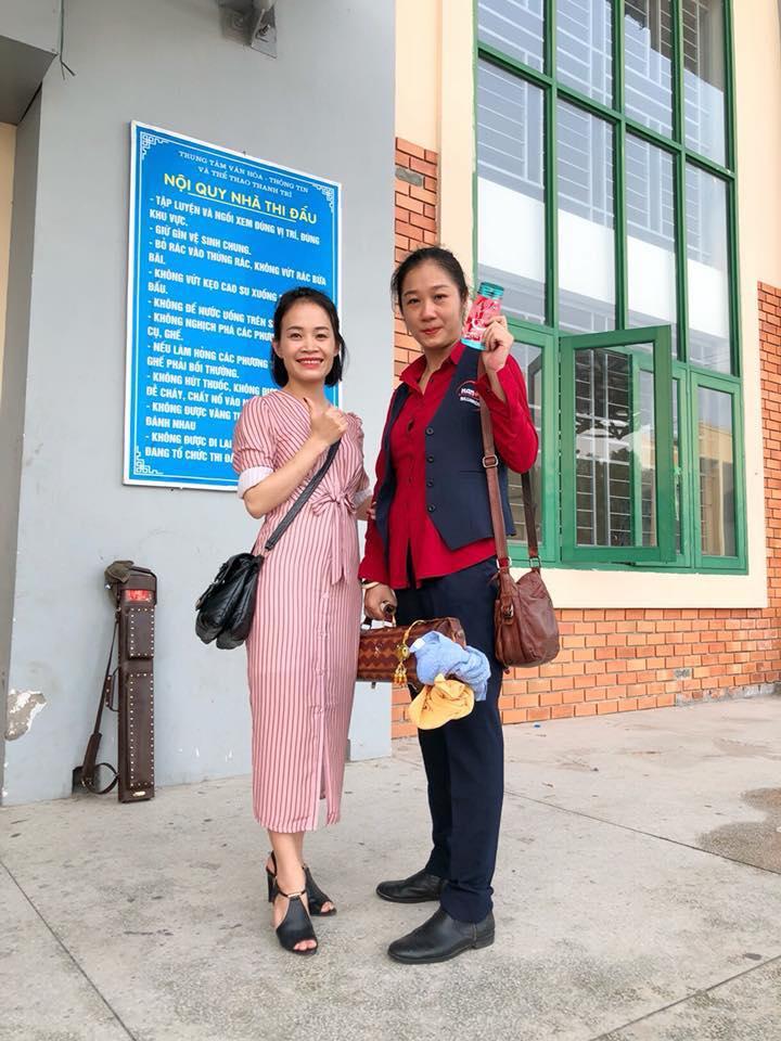 Tay cơ Đoàn Thị Ngọc Lệ dành HCV đầu tiên cho đội Hà Nội