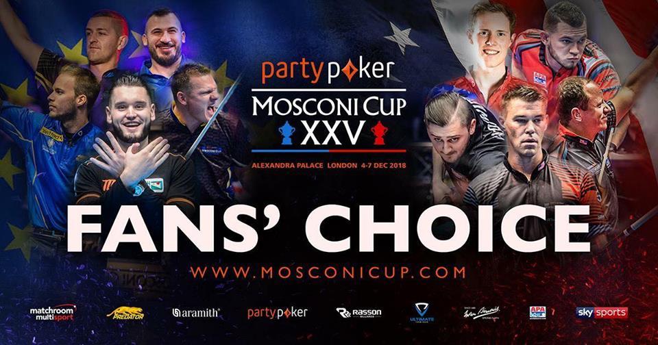 Mosconi Cup - một chặng đường vẻ vang!